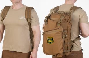 Эргономичный рейдовый рюкзак с нашивкой Танковые Войска - купить онлайн