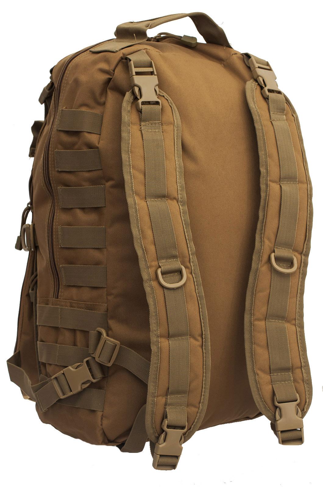 Эргономичный рейдовый рюкзак с нашивкой Танковые Войска - купить в подарок