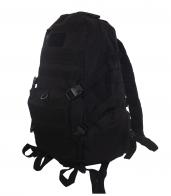 Черный эргономичный рюкзак