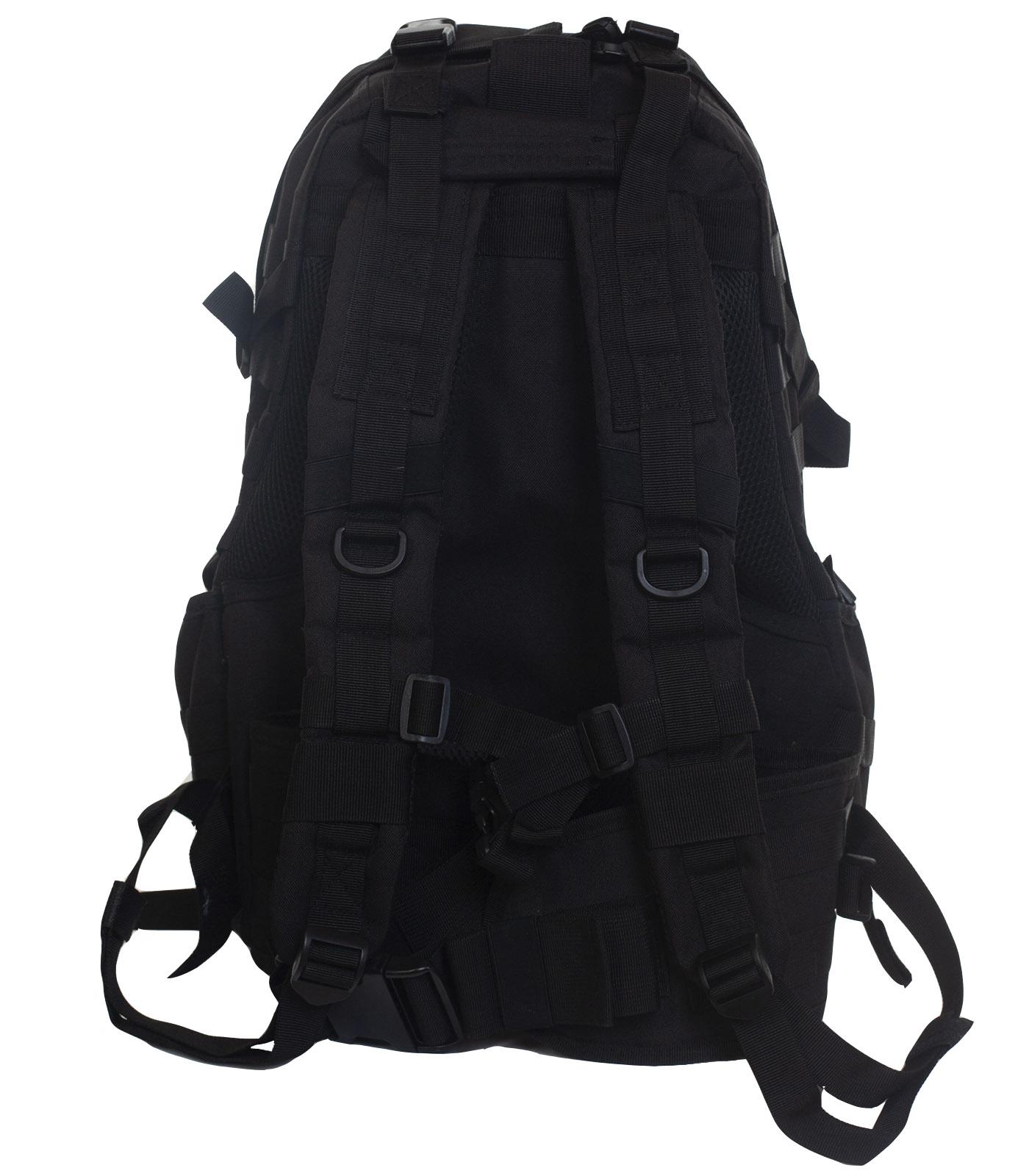 Черный эргономичный рюкзак - оптом и в розницу
