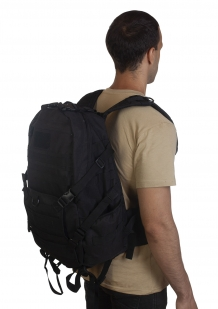 Черный эргономичный рюкзак -  по лучшей цене