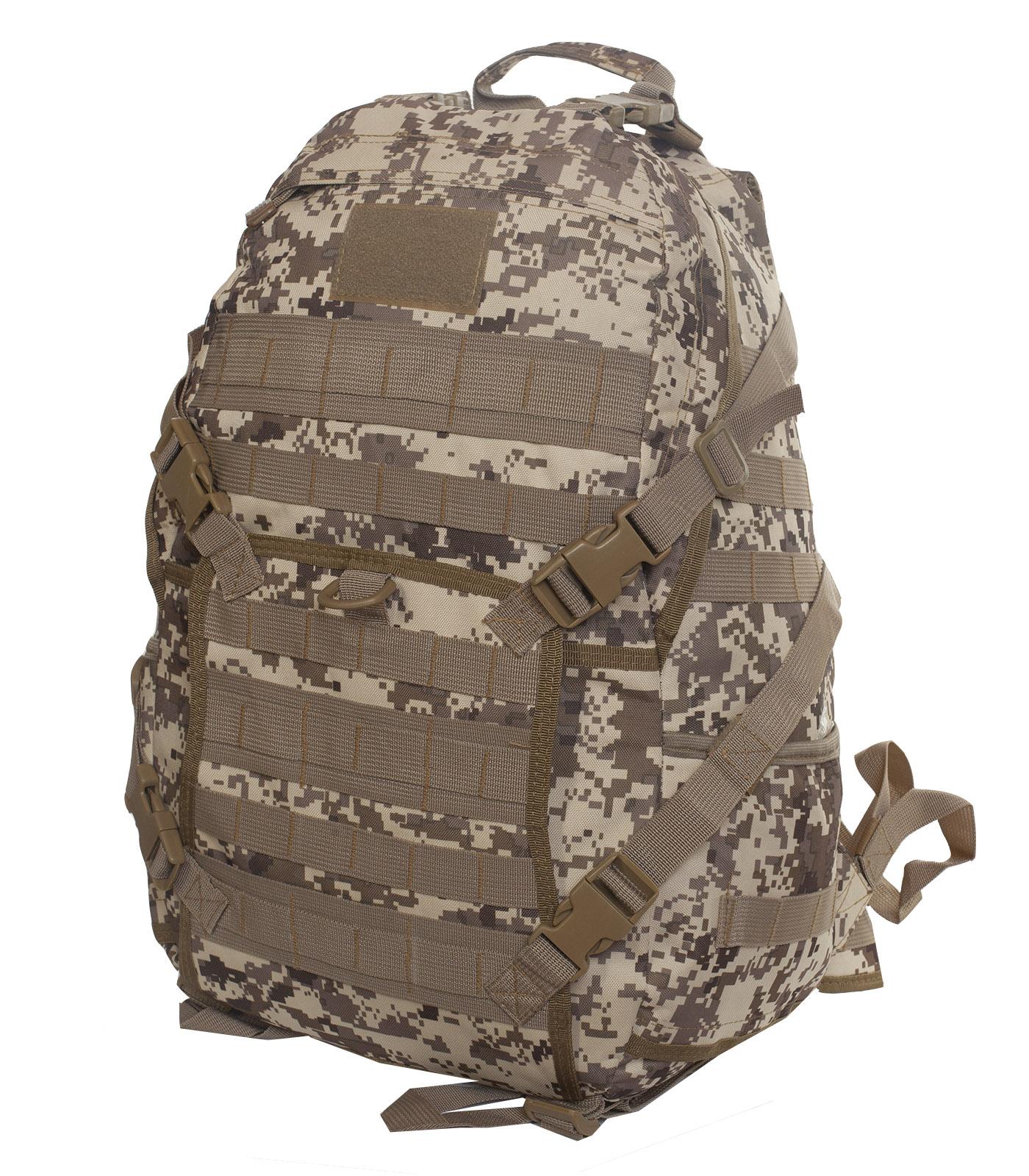 Эргономичный рюкзак камуфляжа Digital Desert 30 л