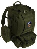 Эргономичный штурмовой рюкзак с нашивкой ДПС