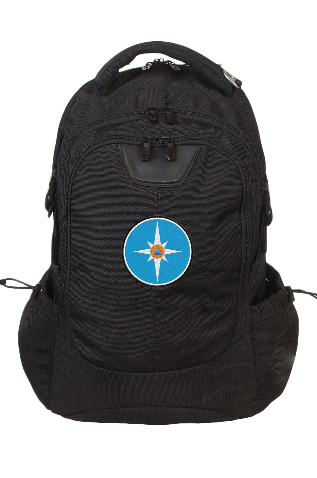 Эргономичный стильный рюкзак с нашивкой МЧС