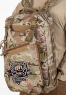 Эргономичный трендовый рюкзак с нашивкой Рыболовный Спецназ