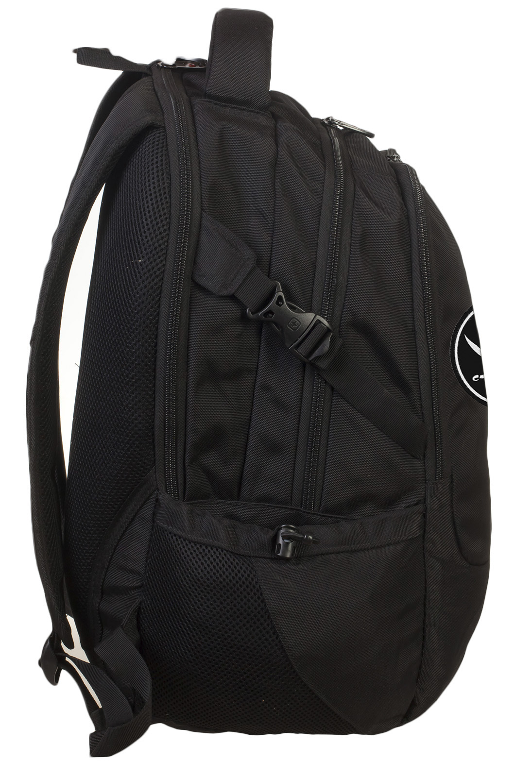 Эргономичный вместительный рюкзак с нашивкой Пиратский флаг - купить онлайн