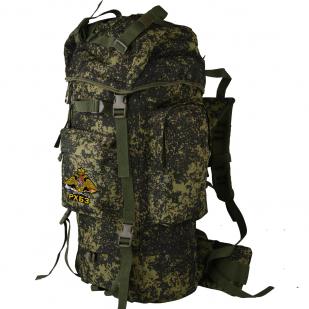 Эргономичный заплечный рюкзак с нашивкой РХБЗ - купить с доставкой