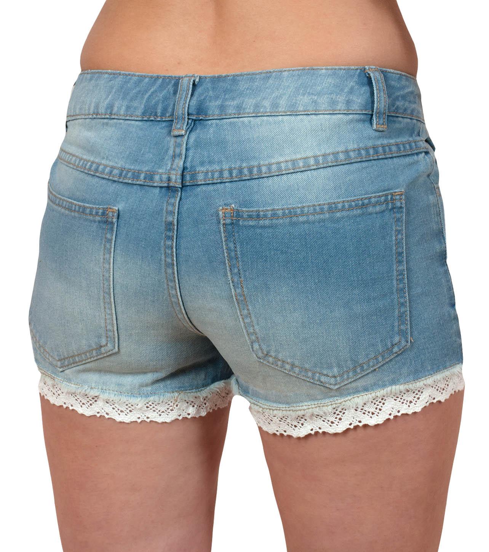 Эротичные джинсовые шортики VILA Venus