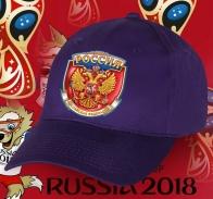 Настоящая фанатская бейсболка РОССИЯ
