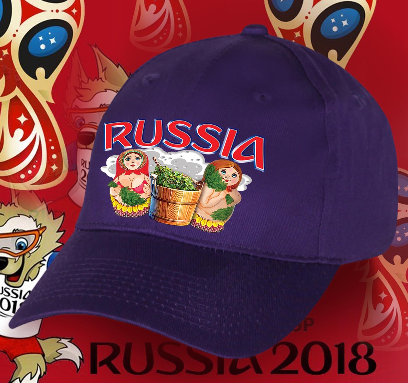 Фанатская бейсболка РОССИЯ