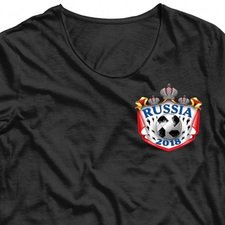 Фанатская аппликация термонаклейка Россия заказать онлайн