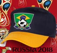 Фанатская бейсболка Brasil