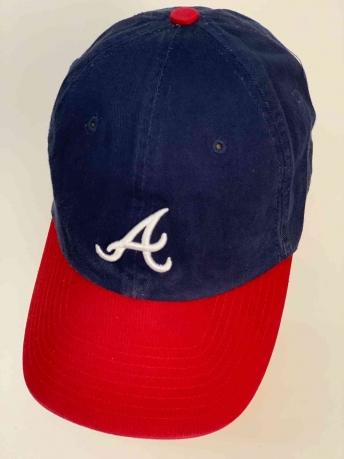Фанатская бейсболка для болельщиков Atlanta Braves