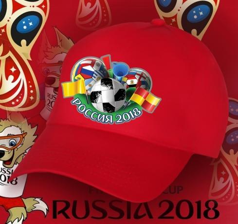 Фанатская бейсболка Россия 2018
