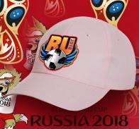 Фанатская бейсболка Ru-2018
