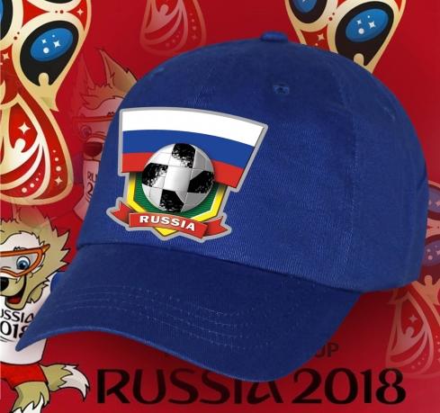 Фанатская бейсболка Russia