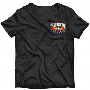 Фанатская картинка для сублимации Russia - заказать в подарок