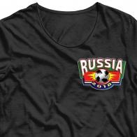 Фанатская картинка для сублимации Russia