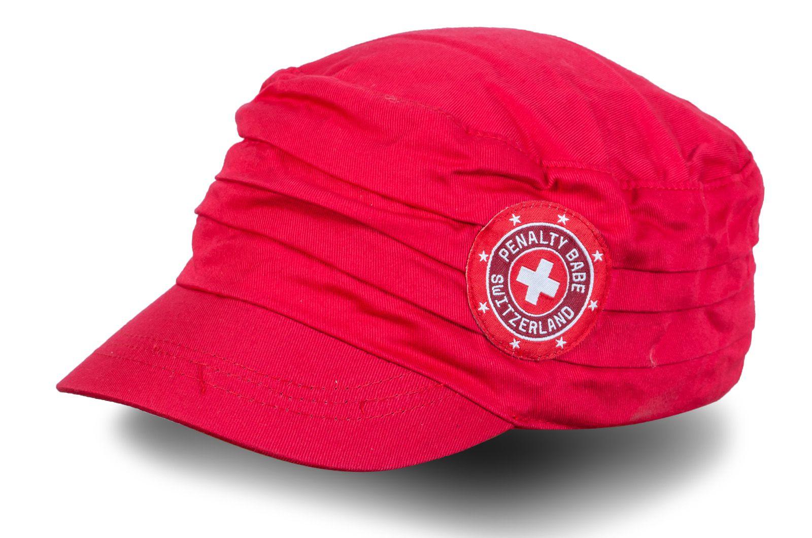 Фанатская кепка Швейцария | Купить женские кепки