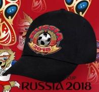 Фанатская кепка Russia-2018 в поддержку сборной.