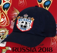 Фанатская крутая бейсболка Russia 2018