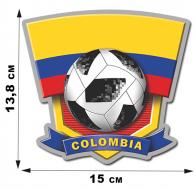 Фанатская наклейка COLOMBIA