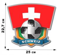 Фанатская наклейка сборной Schweiz