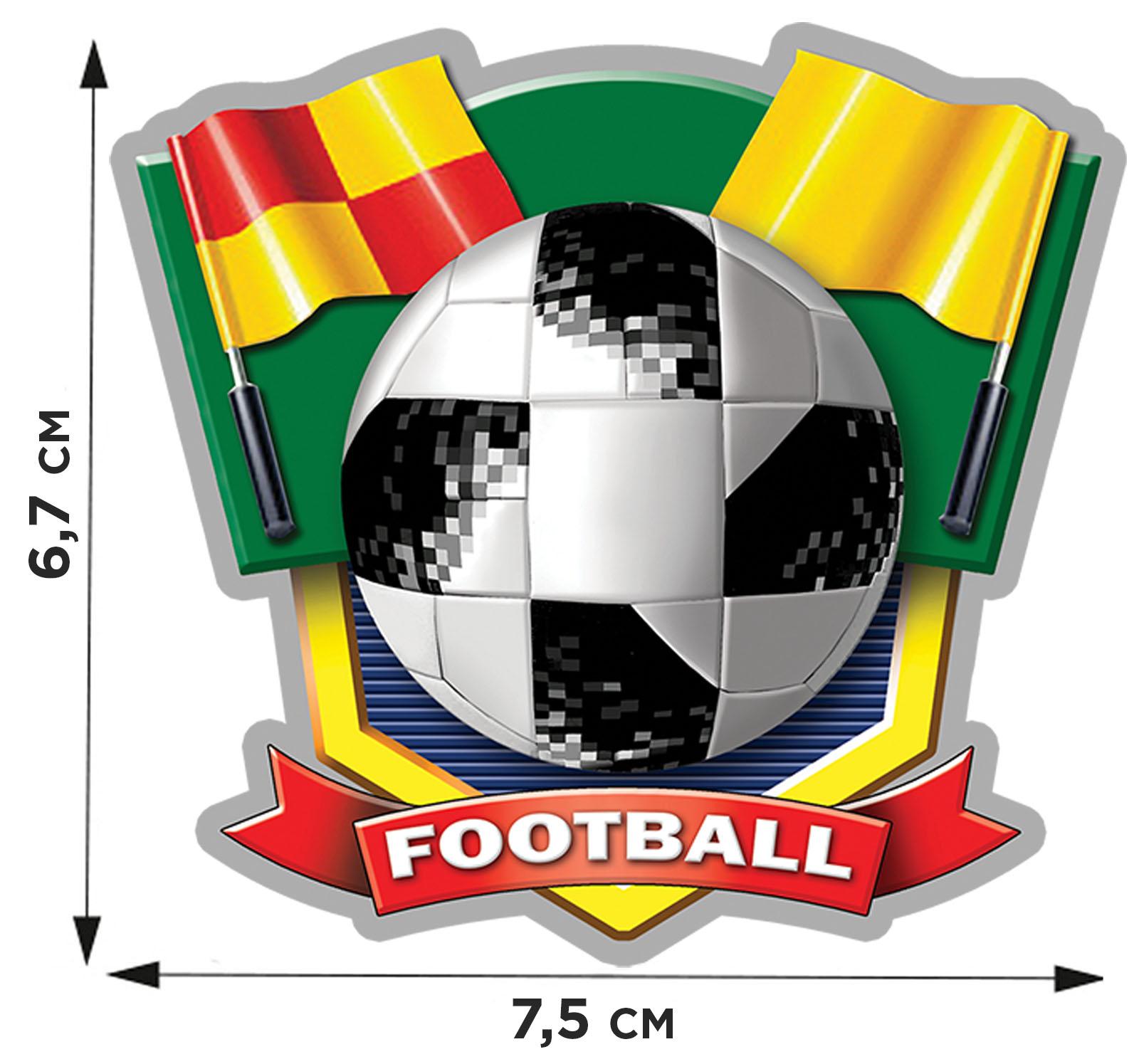 Купить термонаклейку FOOTBALL по лучшей цене