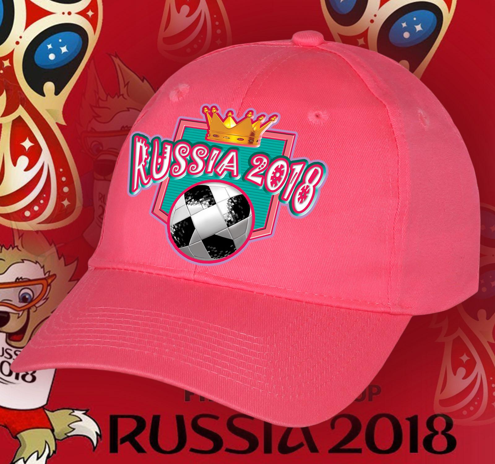 Фанатская топовая кепка RUSSIA