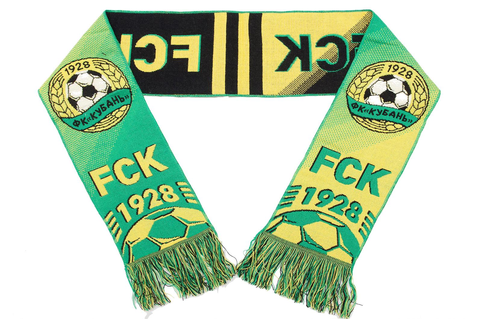 """Фанатский шарф """"FCK"""""""