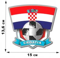 FIFA-2018 World cup наклейка сборной Хорватии