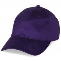 Фиолетовая промо-бейсболка
