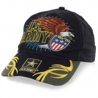 Фирменная армейская бейсболка U.S.Army – вышитый дизайнерский логотип, оригинальное оформление козырька. Ограниченное ценовое предложение!