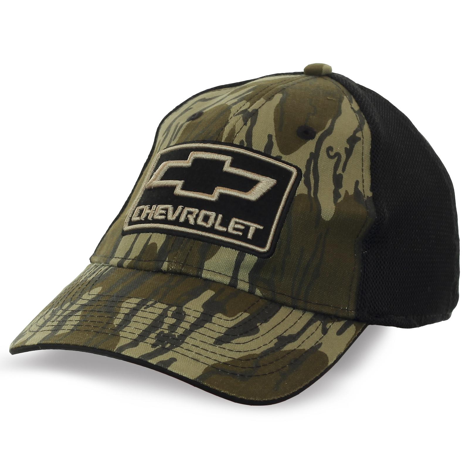 Фирменная бейсболка Chevrolet