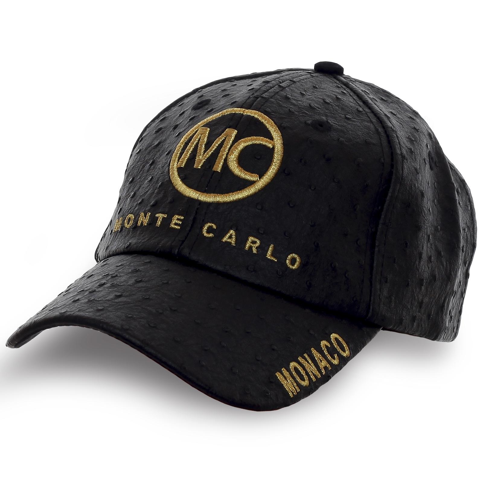 Фирменная бейсболка Monaco Monte-Carlo. Эксклюзив!