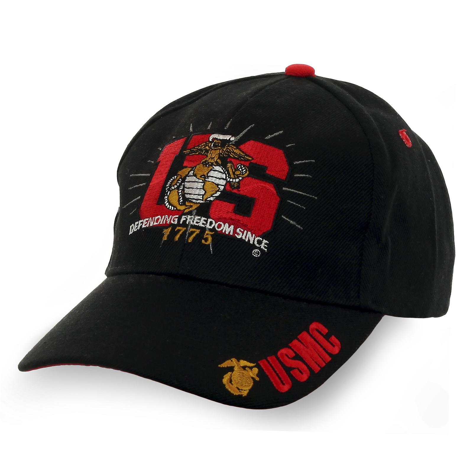 Фирменная бейсболка USMC. Известный бренд по доступной цене!