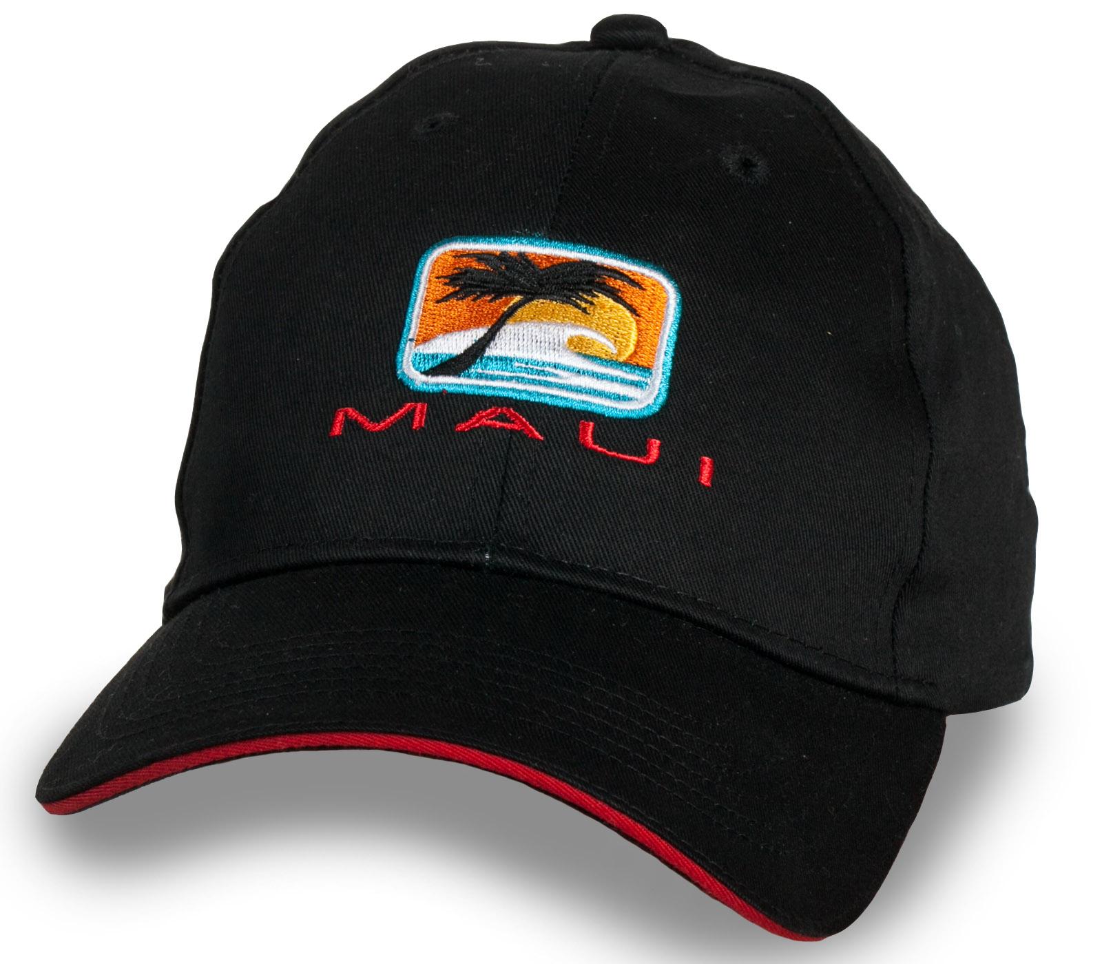Фирменная брутальная бейсболка Maui