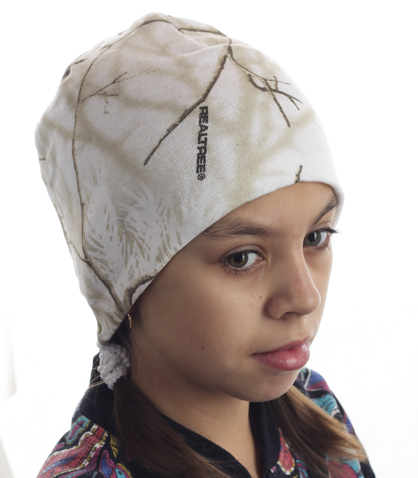 Теплая детская шапочка за 100 рублей