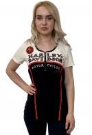 Фирменная женская футболка Harley-Davidson