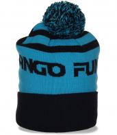 Фирменная мужская шапка Fundango в спортивном стиле. Популярная модель по демократичной цене