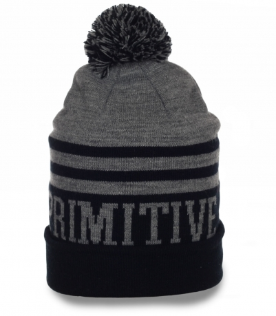 Фирменная мужская шапка Primitive. Современная модель для любой погоды. Заказывай и не мерзни!