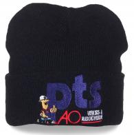 Фирменная мужская шапка с надписью Pts Ao