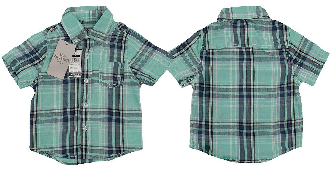 Фирменная рубашка от австралийского бренда Baby Harvest