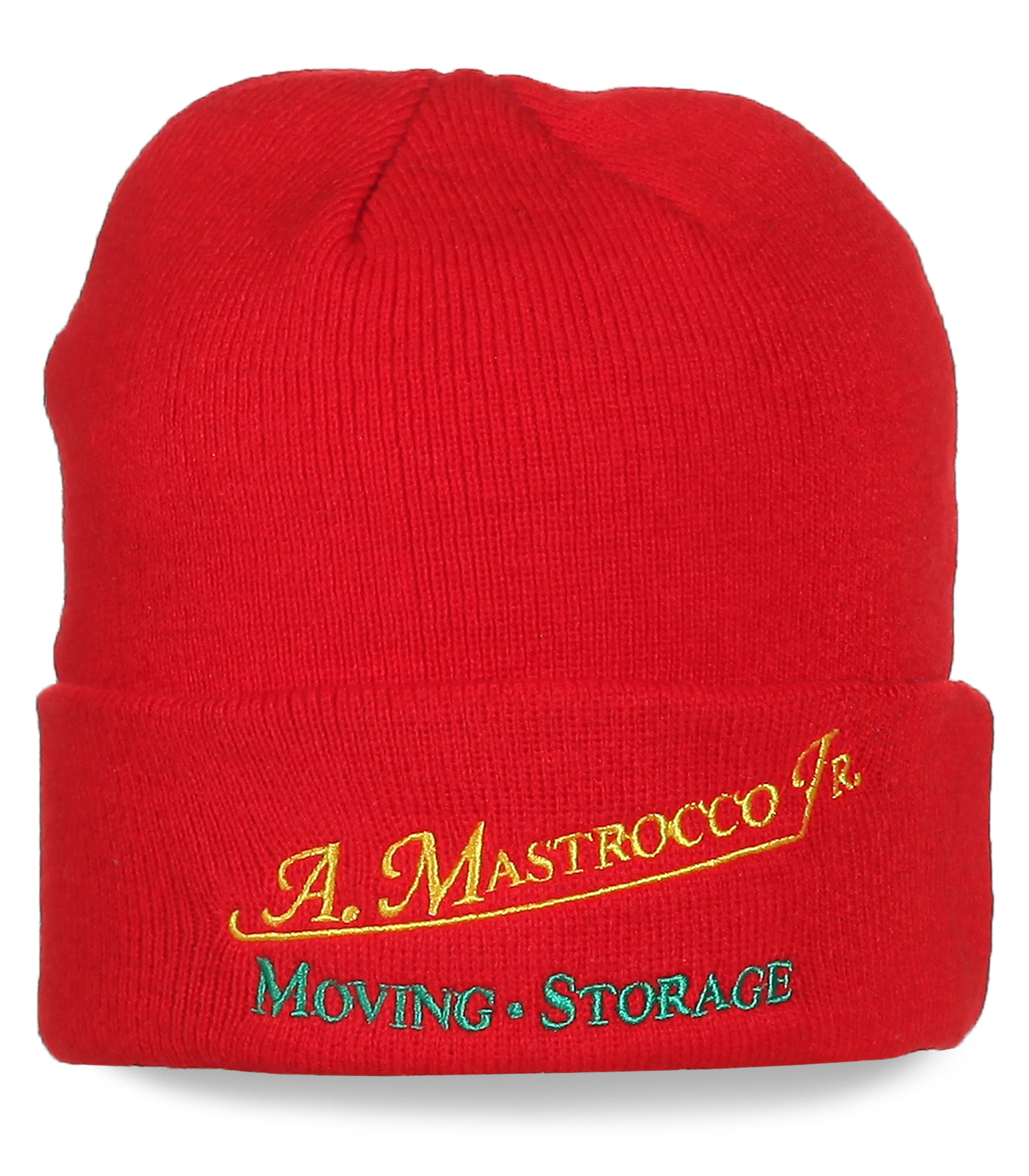 Фирменная шапка A. Mastrocco. Moving Storage. Качественная вещь для любой цели