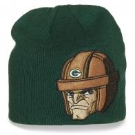 Фирменная шапка Green Bay Packers для поклонников американского футбола