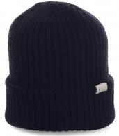 Фирменная шапка Neff с подворотом. Вязаная мужская модель отличного качества. Заказывайте на каждый день!