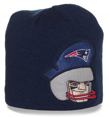Фирменная шапка New England Patriots - эксклюзив для поклонников американского футбола