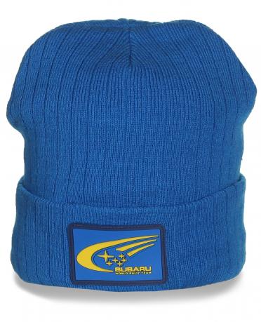 Фирменная шапка Subaru. Яркая модель, которая в моде всегда!
