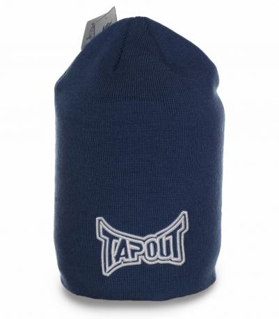 Фирменная шапка Tapout. Современная модель для спортивных мужчин. Заказывай и будь в тепле!