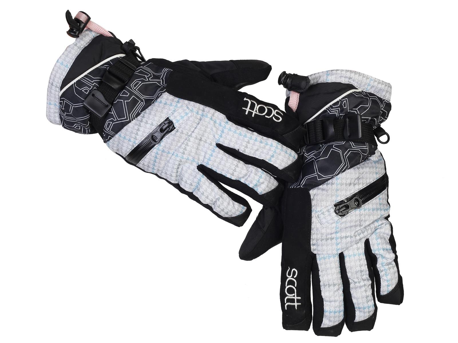 Купить лыжные женские перчатки Scott